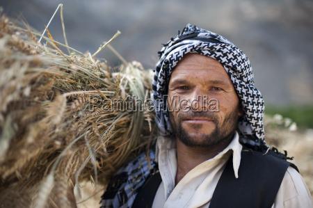 an afghan man from the panjshir