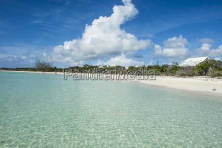 white sand and turquoise water at