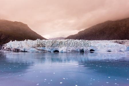 marjorie glacier in glacier bay national