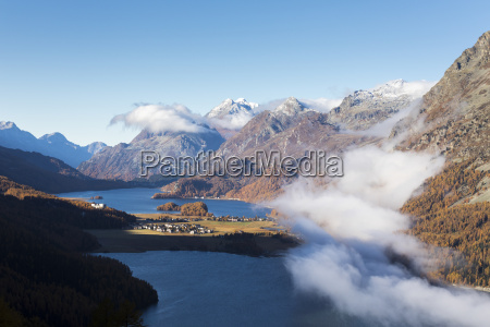 view of sils and the blue