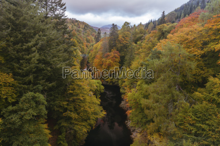 river garry and the pass of