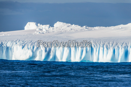 iceberg floating in the south orkney
