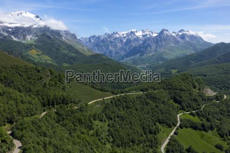 picos de europa and valdeon valley
