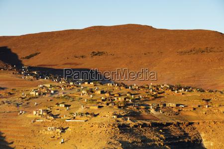 highland village lesotho africa