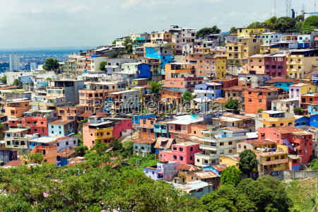 santa ana hill in ecuador