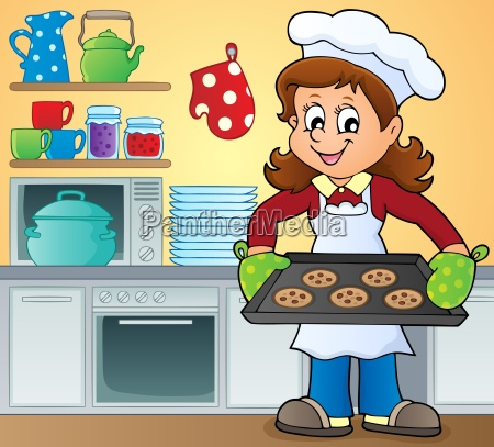 female cook theme image 5