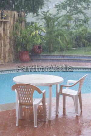mexico nayarit heavy summer rain in