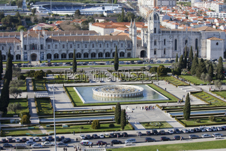 portugal lisbon belem jeronimos monastery and