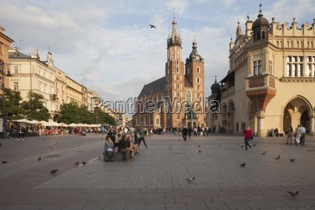 poland krakow old town main market