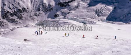 france chamonix ski mountaineering