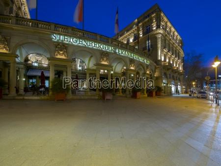 germany hesse frankfurt hotel steigenberger frankfurter