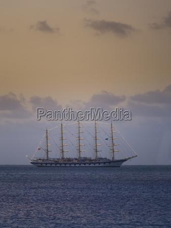 karaiby st lucia luksusowy jacht zaglowy