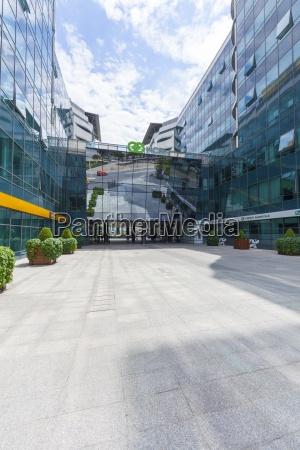 modern office buildings novi beograd belgrade