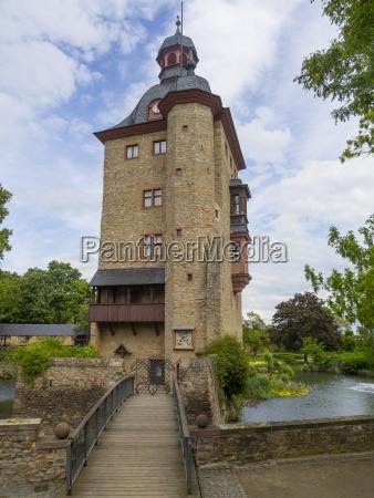 germany hesse rheingau viewt to entrance