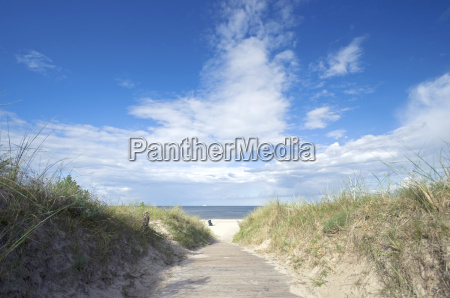 germany view of usedom baltic sea