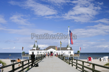 germany mecklenburg western pomerania usedom pier