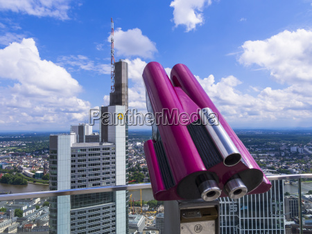 germany hesse frankfurt pink coin operated