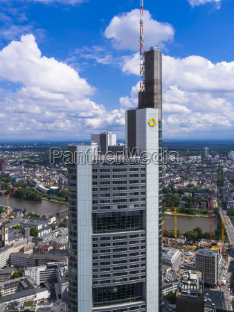 germany hesse frankfurt view to building