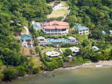 caraibi st lucia gros islet foto