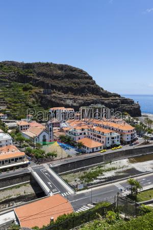 portugal coastal village of tabua