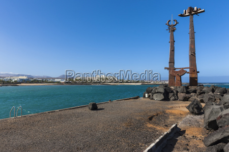spain canary islands lanzarote work of