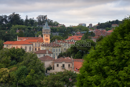 portugal sintra moorish castle and pena
