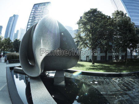 germany hesse frankfurt westend sculpture continuity