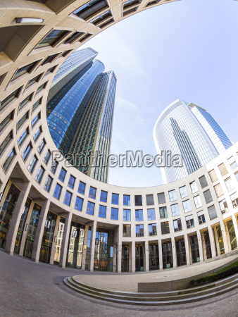 germany hesse frankfurt frankfurt gallus tower