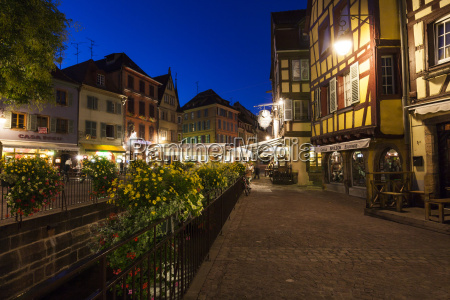 france colmar view of square old