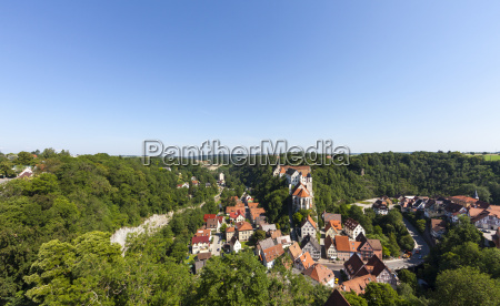 germany baden wuerttemberg view on castle