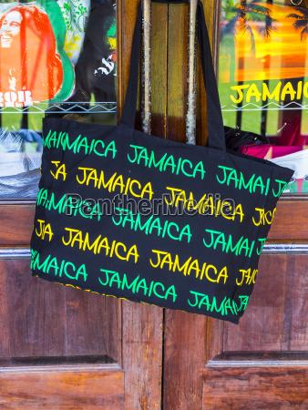 jamaica ocho rios shopping bag with