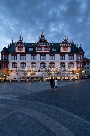 germany bavaria coburg view of