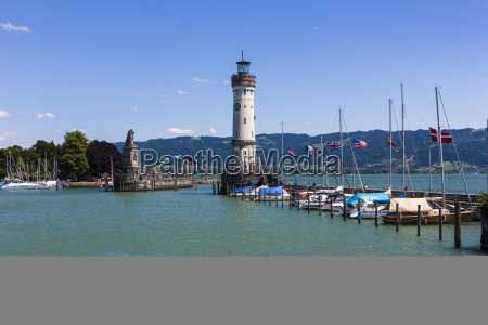 germany, , bavaria, , view, of, lighthouse, at - 21047189