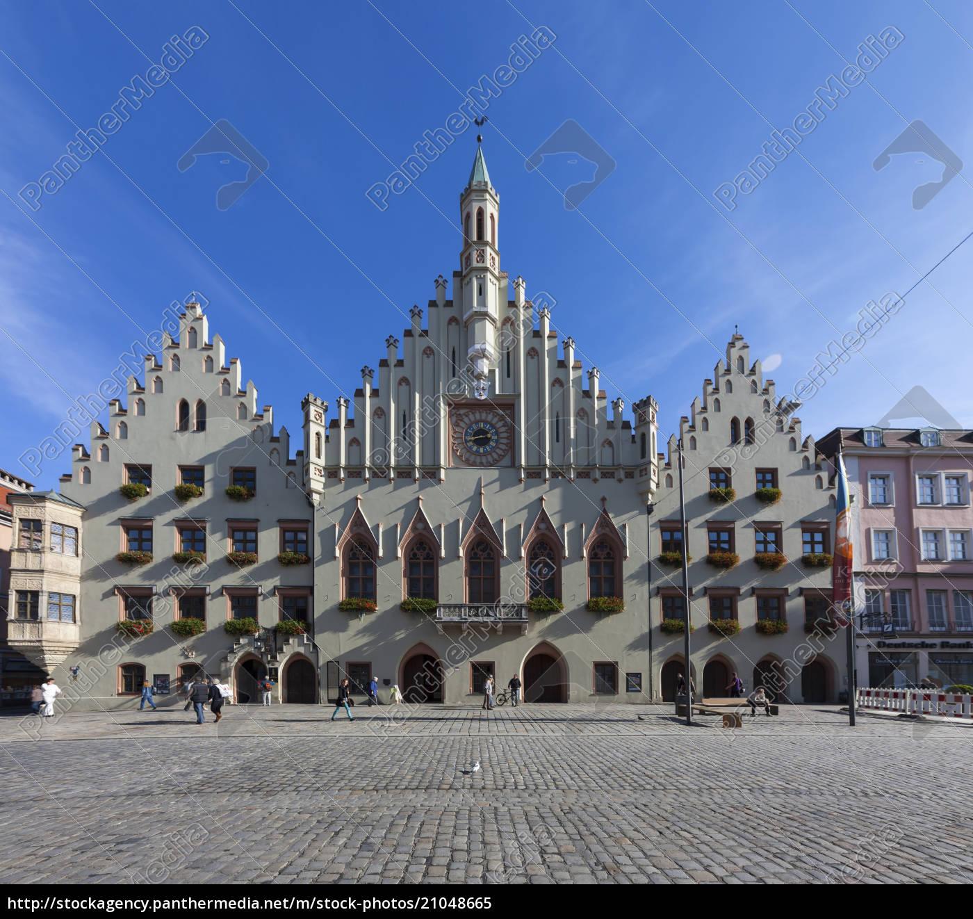 germany, , bavaria, , landshut, , old, town, , town - 21048665