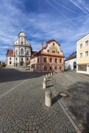 germany bavaria upper bavaria altoetting pilgrimage