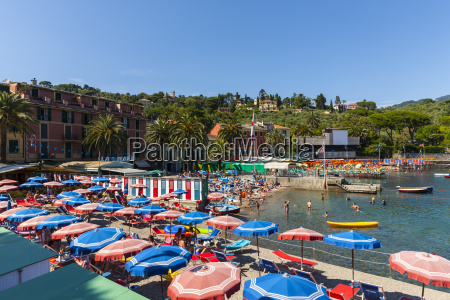 italy liguria rapallo costal resort of