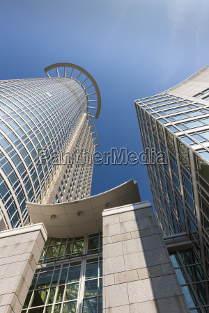 germany hesse frankfurt financial district westend