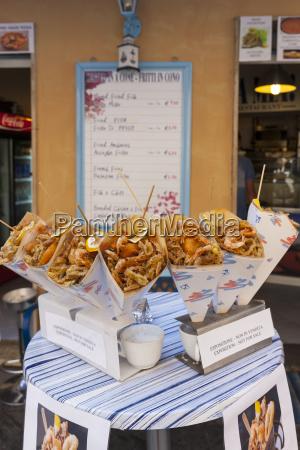 italy la spezia province riomaggiore snack
