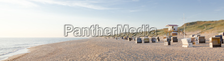 germany view of empty beach with