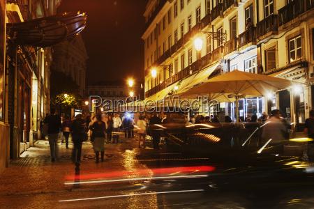 portugal lisbon chiado rua garrett by