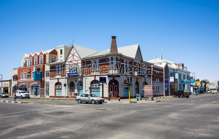 namibia swakopmund historical building colonial style