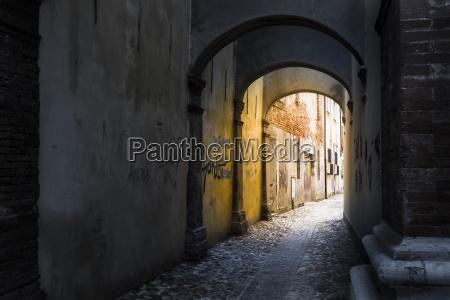 italy comacchio archway