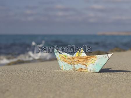 la spagna formentera piccola barca di