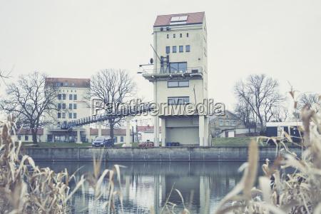 germany brandenburg granary at oderbruch