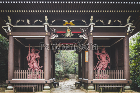 japan miyajima daisho in temple stone