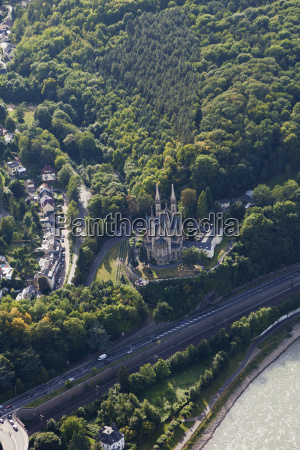 europe germany rhineland palatinate view of