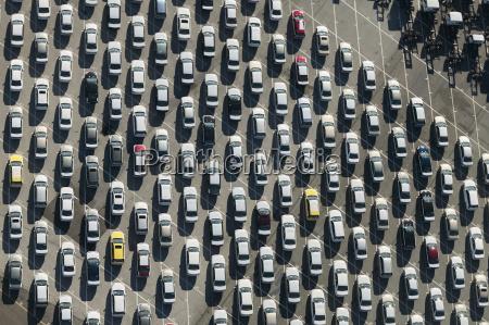 usa maryland aerial photograph of cars