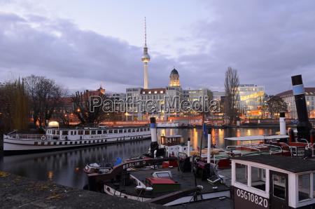 germany berlin historical harbour spree river