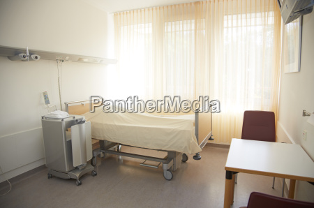 germany freiburg empty hospital room