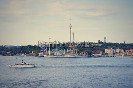 sweden stockholm amusement park groena lund